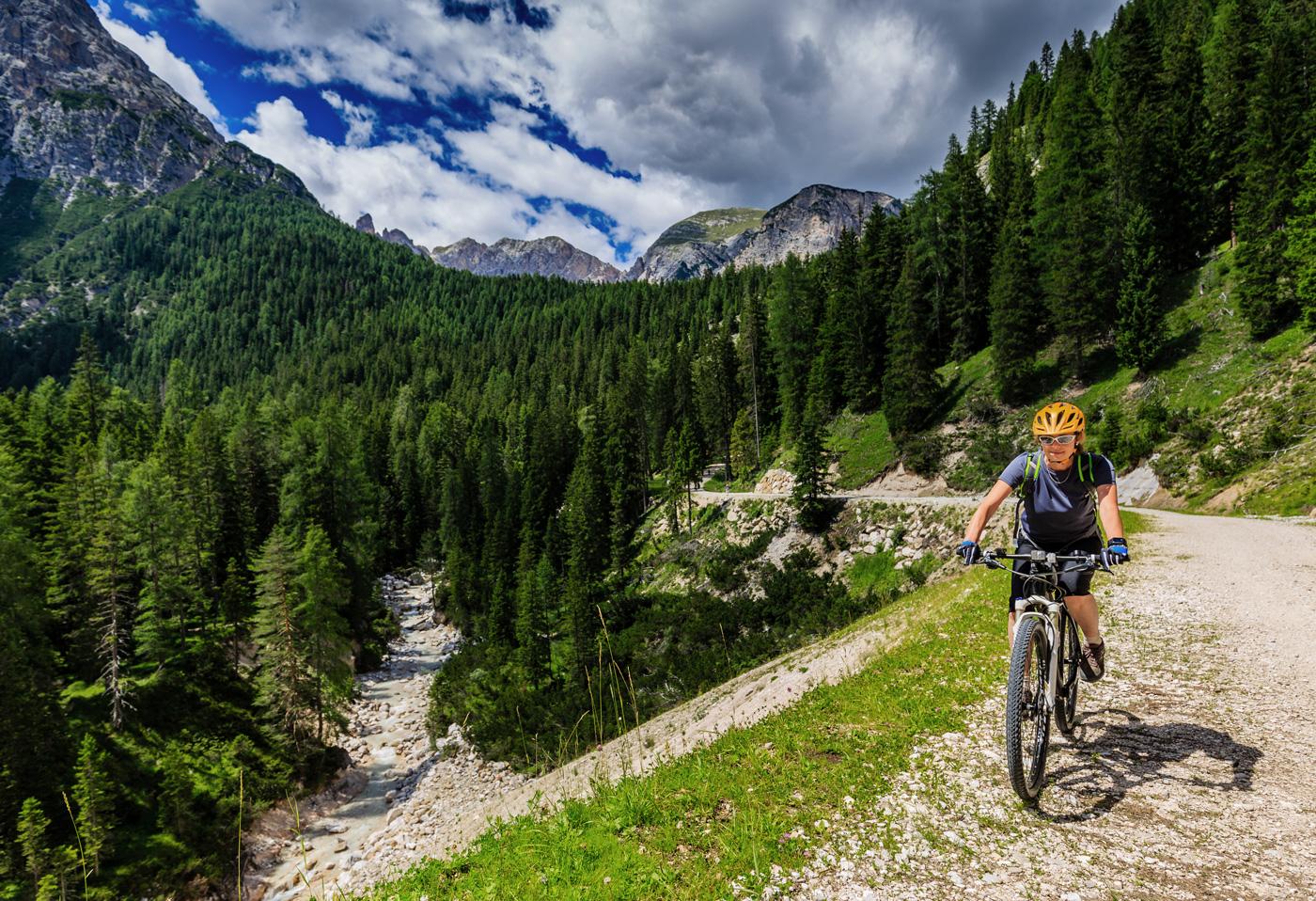 Risveglio di primavera in Val Gardena in Alto Adige